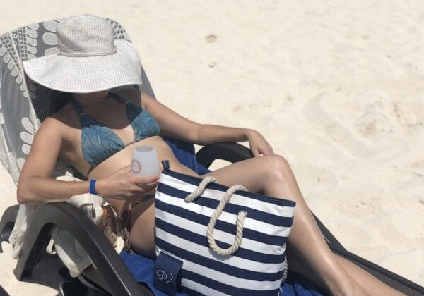 Drinking at the beach PortoVino Carpe Travel