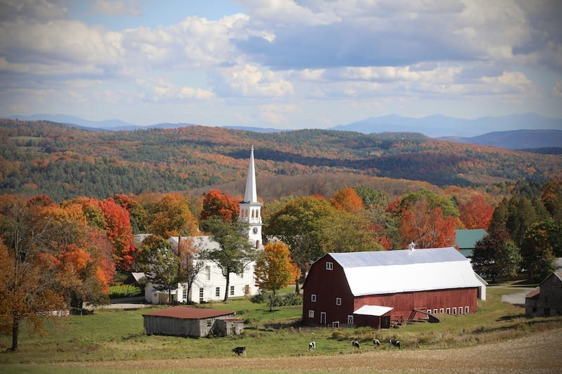 Vermont Wineries - Peacham Landscape